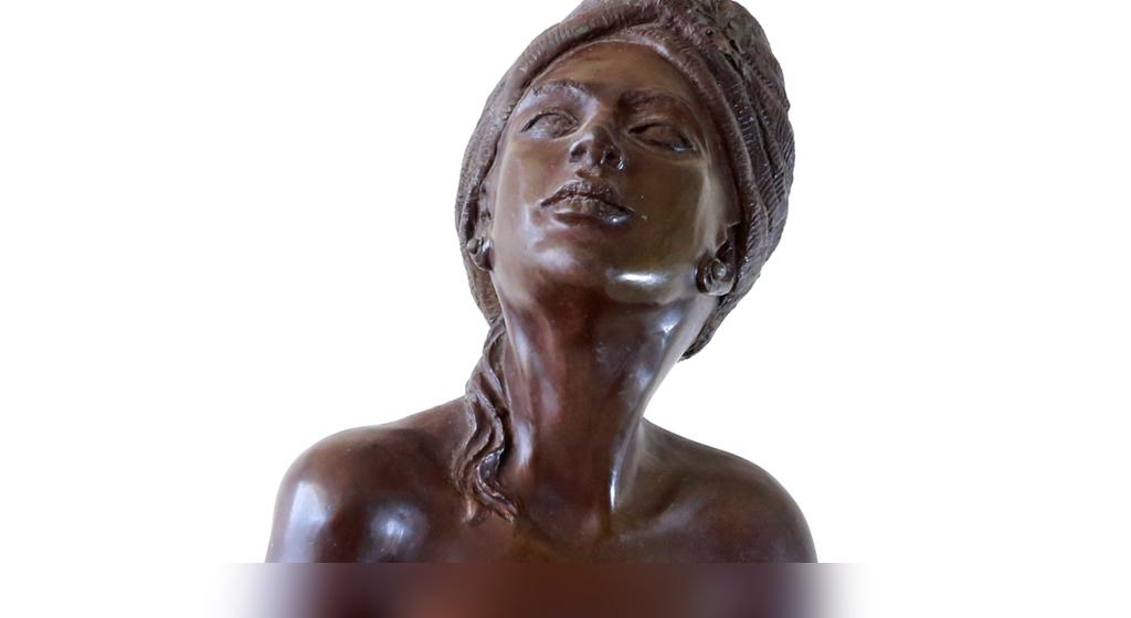 Queen Of Sheba - Bronze  - h.85cm